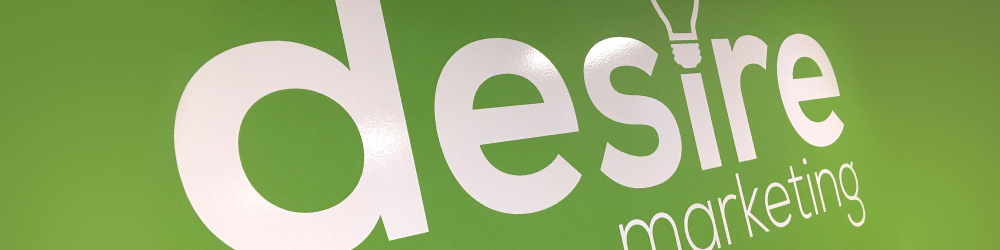 Desire webiste header