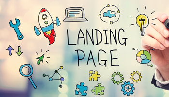 Landing pages small